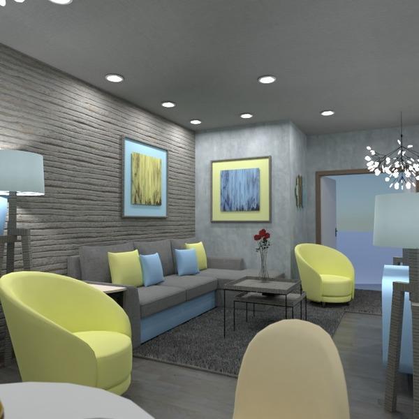 идеи дом мебель гостиная кухня освещение идеи