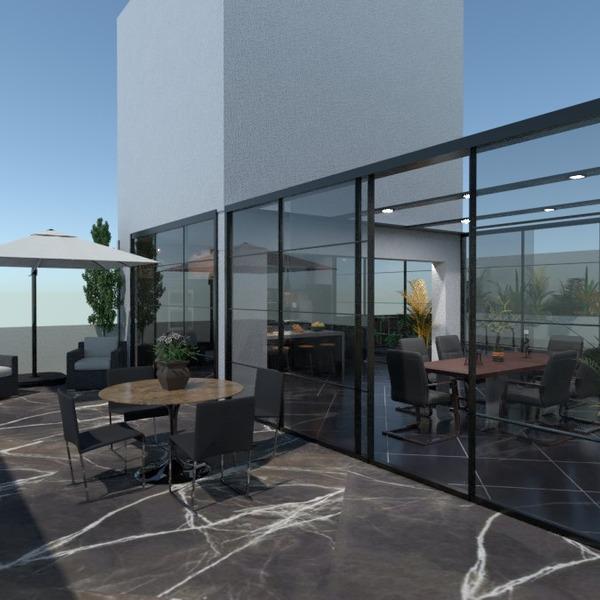 nuotraukos butas terasa baldai eksterjeras idėjos