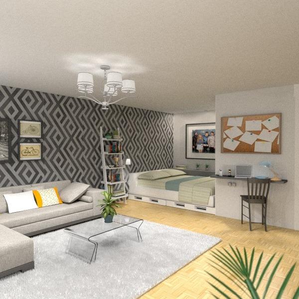 fotos muebles bricolaje iluminación estudio descansillo ideas