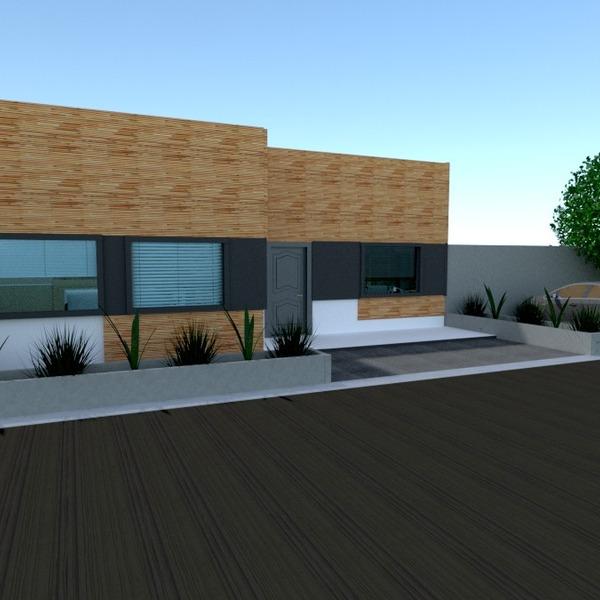 foto casa garage esterno paesaggio vano scale idee