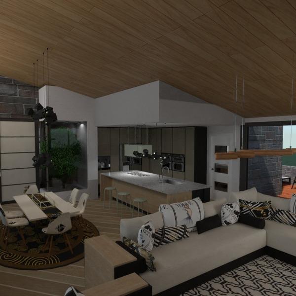 идеи дом гостиная кухня столовая идеи