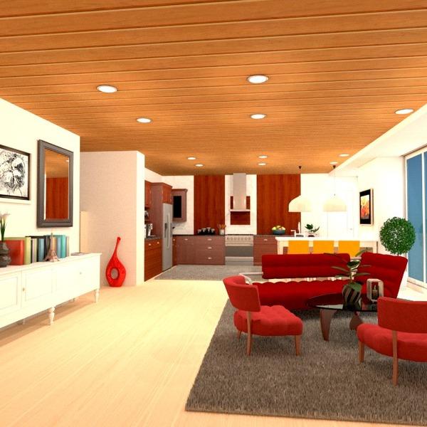 photos appartement salon cuisine eclairage rénovation studio idées