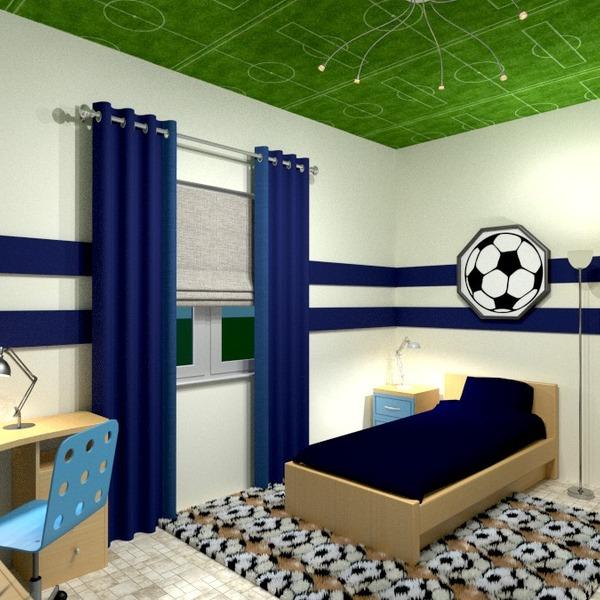 nuotraukos baldai dekoras vaikų kambarys idėjos