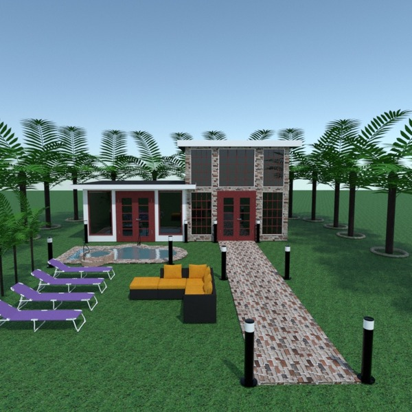 fotos terraza muebles exterior iluminación paisaje arquitectura ideas