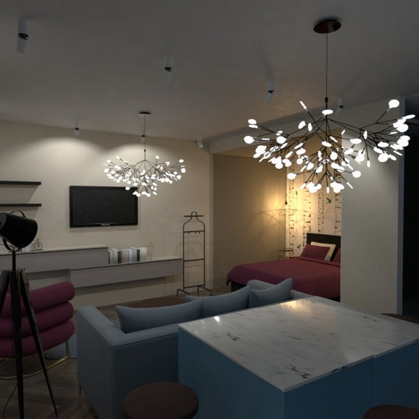 идеи квартира спальня гостиная кухня студия идеи