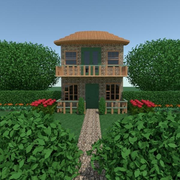 zdjęcia dom taras na zewnątrz krajobraz architektura pomysły