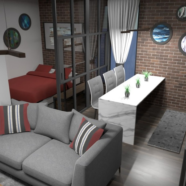 zdjęcia mieszkanie meble wystrój wnętrz mieszkanie typu studio pomysły