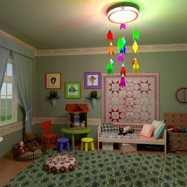 nuotraukos miegamasis vaikų kambarys apšvietimas sandėliukas idėjos