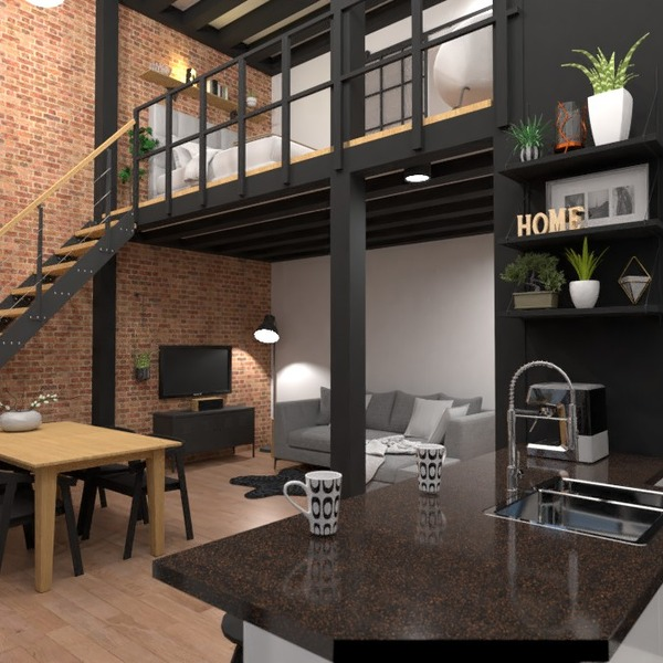 идеи квартира сделай сам гостиная кухня идеи