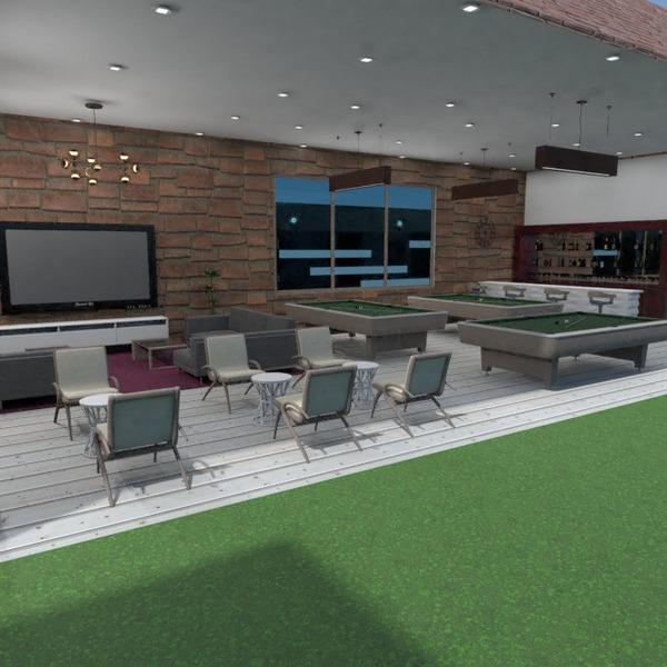 fotos mobílias decoração área externa cafeterias ideias