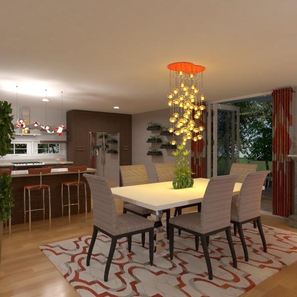 nuotraukos namas terasa virtuvė apšvietimas valgomasis idėjos