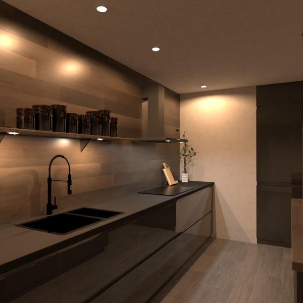 photos appartement maison cuisine eclairage salle à manger idées