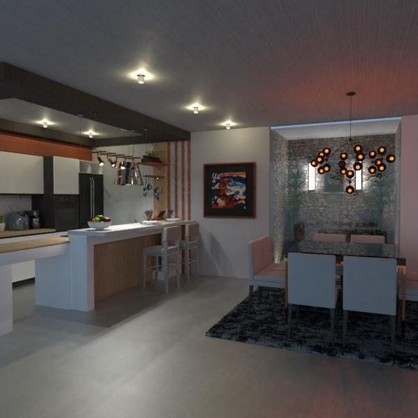 foto cucina illuminazione famiglia sala pranzo architettura idee