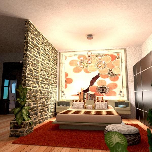 foto appartamento arredamento camera da letto illuminazione idee