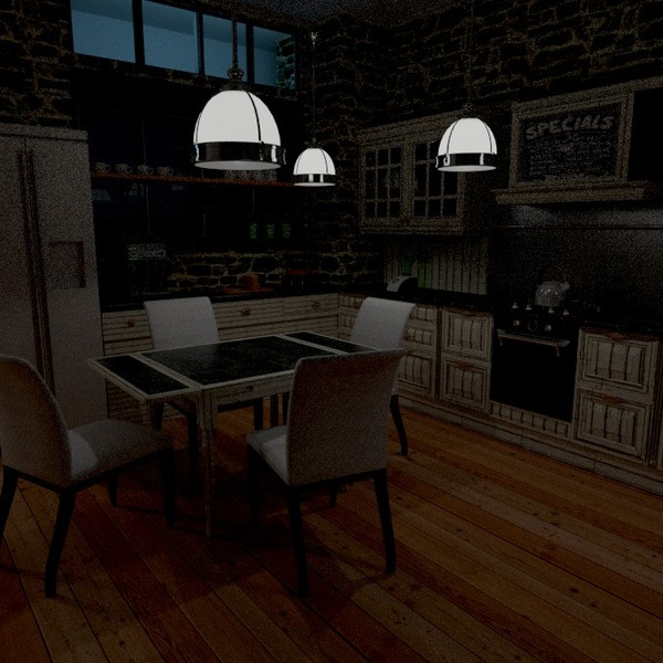 foto appartamento arredamento cucina illuminazione idee