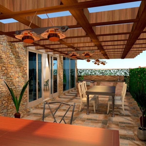 nuotraukos terasa baldai dekoras eksterjeras idėjos