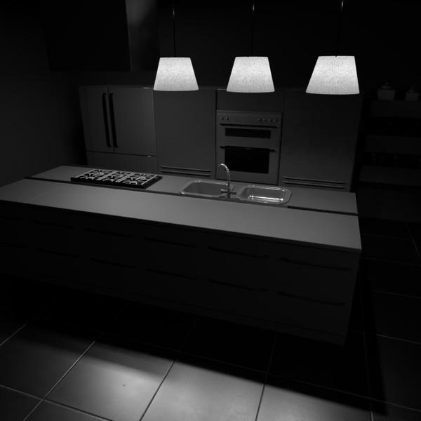 foto casa cucina illuminazione idee