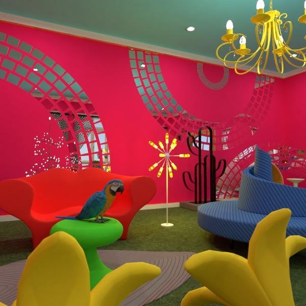 photos maison meubles décoration chambre d'enfant eclairage idées