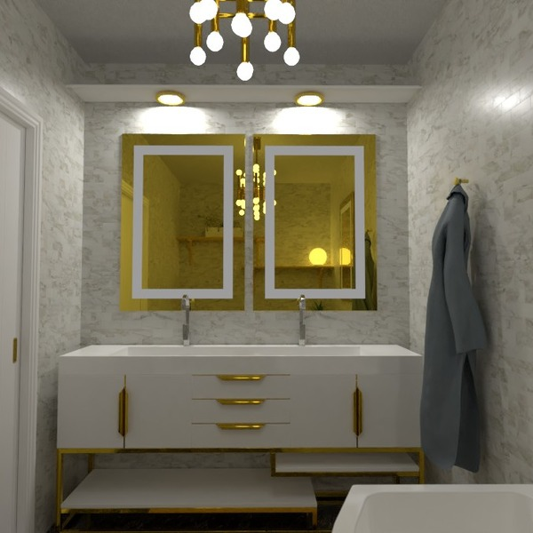 foto casa bagno illuminazione idee