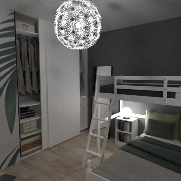 foto camera da letto cameretta studio illuminazione famiglia idee