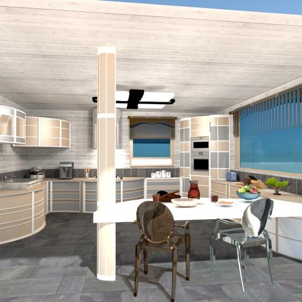photos décoration cuisine maison salle à manger espace de rangement idées