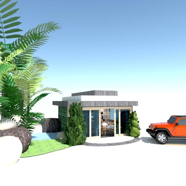 fotos garaje exterior paisaje ideas