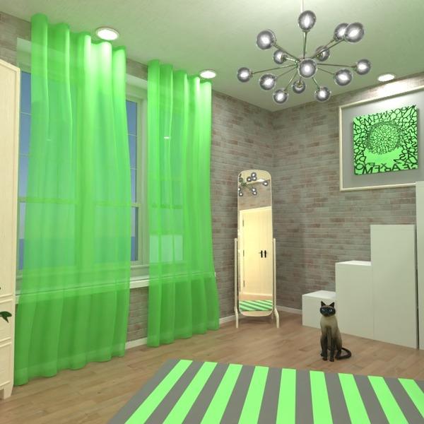 идеи мебель декор спальня детская освещение идеи