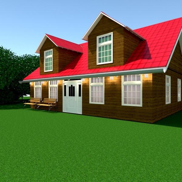 foto casa esterno illuminazione architettura idee