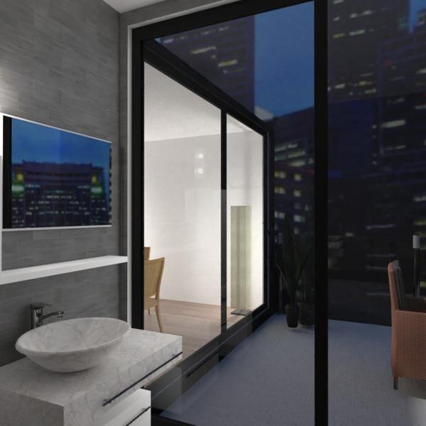 fotos decoración cuarto de baño exterior iluminación ideas
