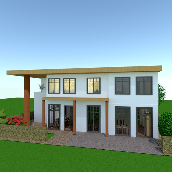 fotos casa garagem área externa reforma paisagismo arquitetura ideias