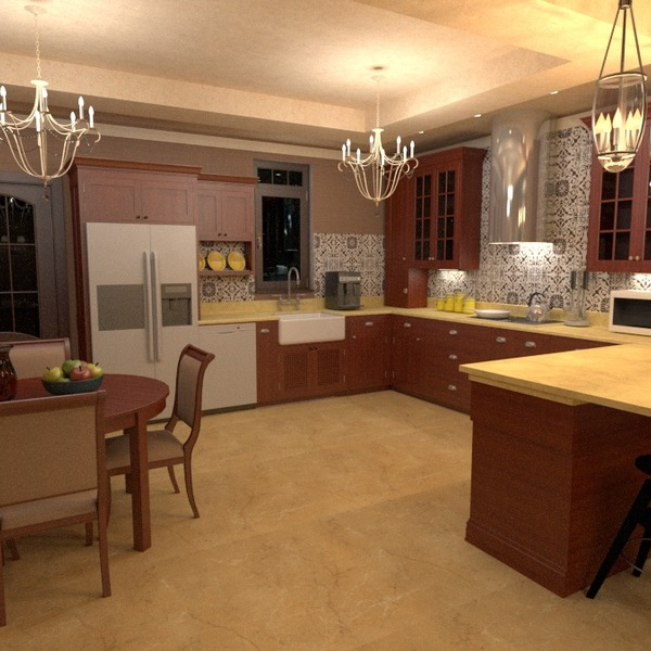 идеи дом мебель декор сделай сам кухня освещение столовая идеи