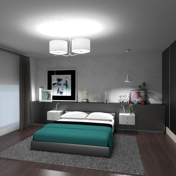 zdjęcia mieszkanie dom meble wystrój wnętrz sypialnia oświetlenie pomysły