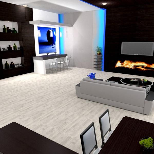 fotos muebles decoración salón iluminación estudio ideas