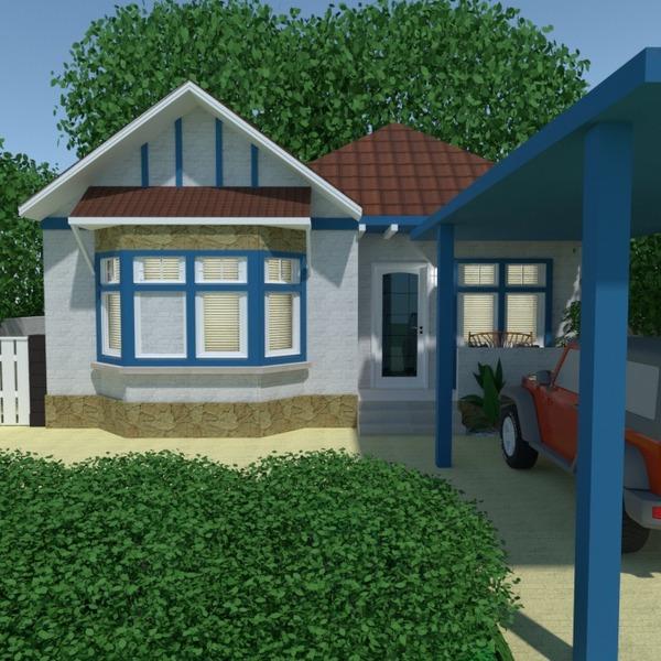 fotos casa varanda inferior decoração garagem área externa iluminação paisagismo arquitetura ideias