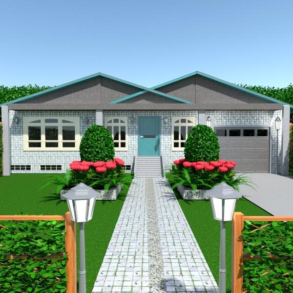 fotos casa garaje exterior paisaje ideas