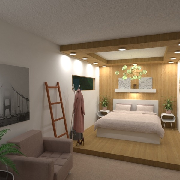 nuotraukos butas namas miegamasis sandėliukas studija idėjos