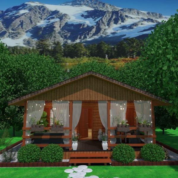 photos maison terrasse meubles décoration paysage idées