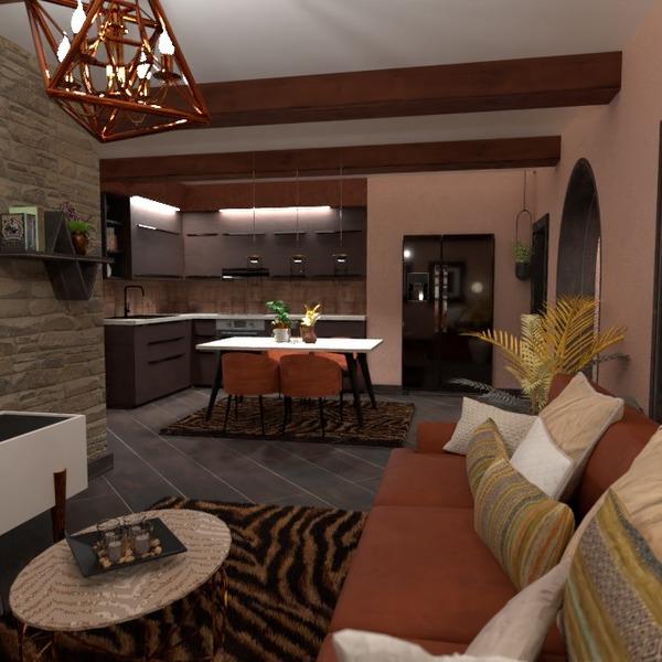 zdjęcia dom meble pokój dzienny kuchnia oświetlenie pomysły