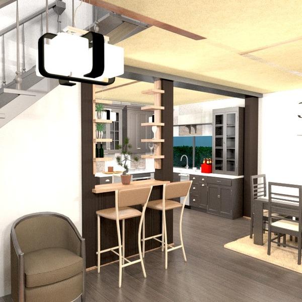fotos apartamento mobílias decoração cozinha sala de jantar ideias