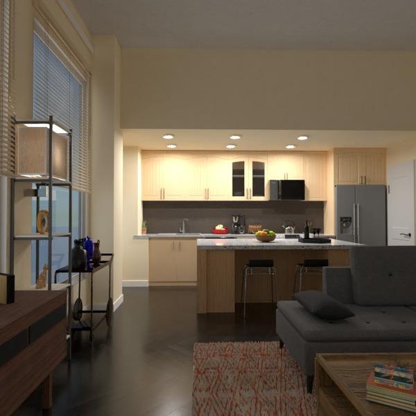 fotos apartamento decoración salón cocina iluminación ideas