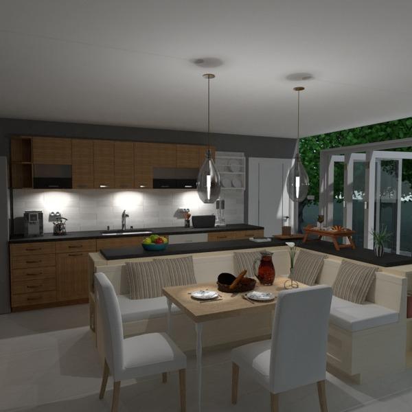 foto casa cucina esterno illuminazione sala pranzo architettura idee