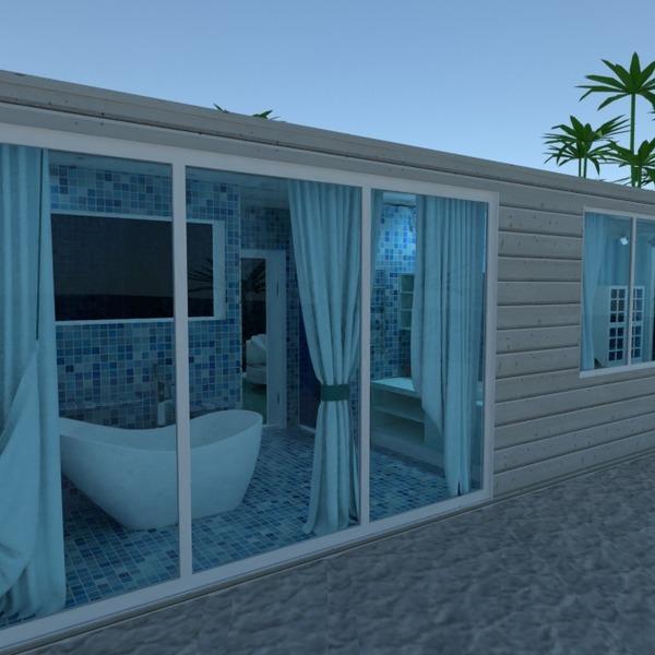 fotos decoração faça você mesmo casa de banho área externa paisagismo ideias