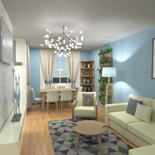 идеи квартира декор гостиная столовая идеи