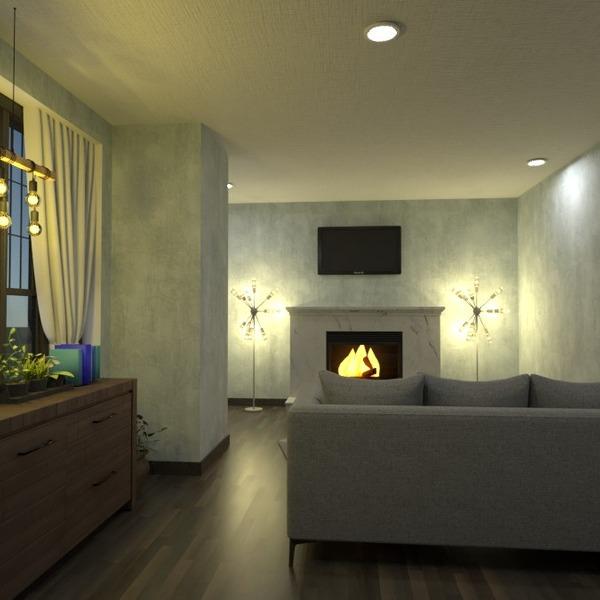 foto casa arredamento saggiorno illuminazione vano scale idee