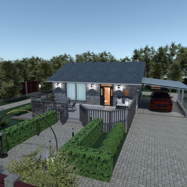 nuotraukos namas terasa baldai vonia miegamasis idėjos
