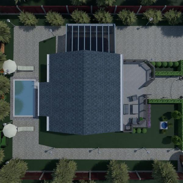 nuotraukos namas terasa baldai idėjos