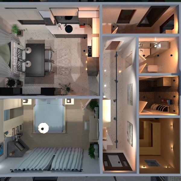 nuotraukos namas baldai miegamasis virtuvė valgomasis idėjos