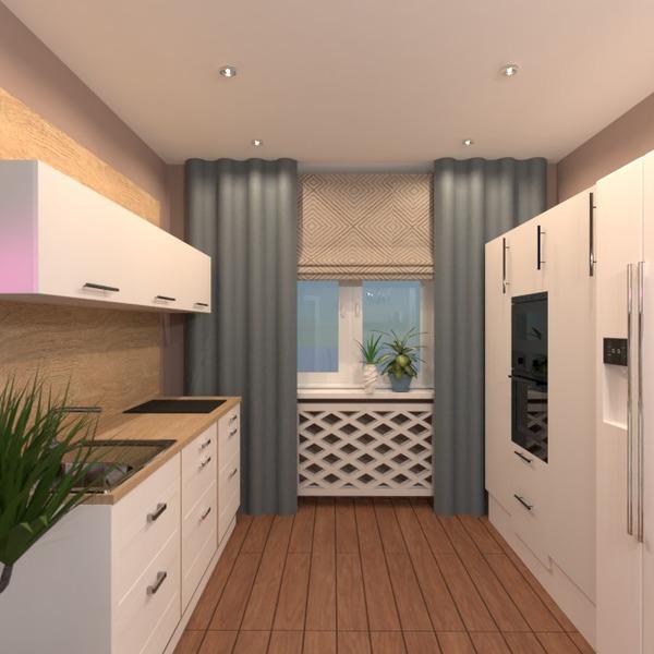 photos meubles cuisine eclairage rénovation salle à manger idées