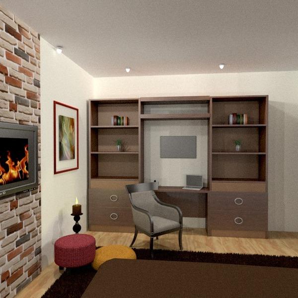 nuotraukos butas baldai dekoras biuras sandėliukas idėjos