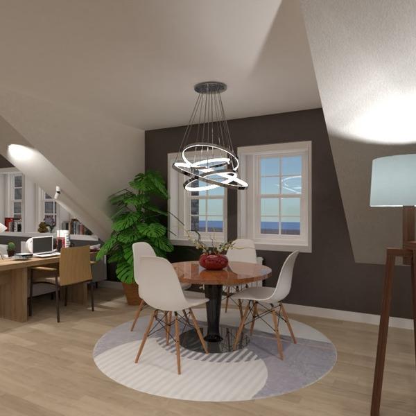fotos apartamento mobílias iluminação sala de jantar estúdio ideias